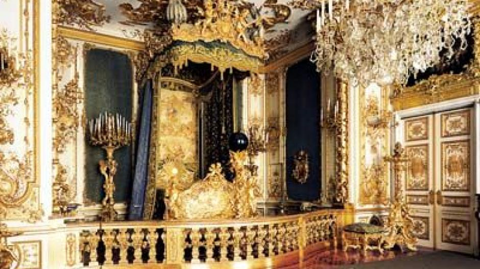 Schloss Herrenchiemsee: Schlafzimmer des \