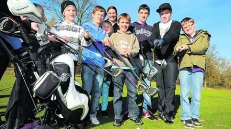 15 Kinder aus Baschenegg golfen um die Wette