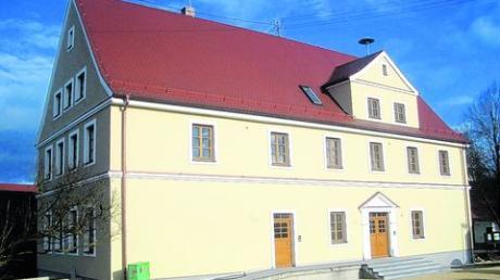 Im Mai kommenden Jahres will die Gemeindeverwaltung ins sanierte Medlinger Rathaus einziehen. Foto: Gemeinde