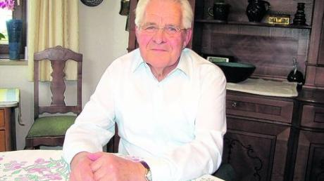 Zu seinem 71. Geburtstag an Silvester legt Rudolf Wahl sein Stadtratsmandat nieder. 32 Jahre saß er im Gundelfinger Gremium. Foto: Gaugenrieder