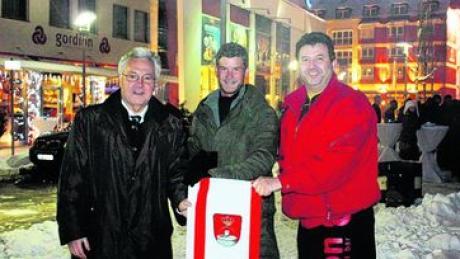 Königsbrunner Fahne soll am Südpol wehen