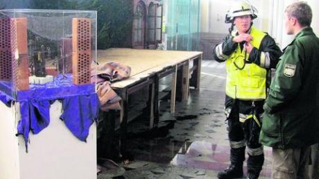 Brandstiftung in der Kirche in Friedberg