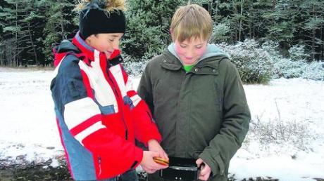 Mit GPS-Gerät oder einem gut ausgestatteten Handy kann man in der Königsbrunner Heide nach dem sagenumwobenen Juwel suchen. Foto: Medienstelle