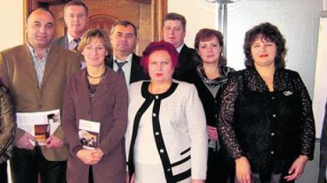 Gäste aus der Ukraine