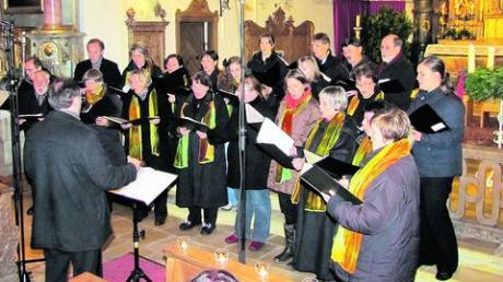 Zwei Augsburger Chöre ernten großen Applaus