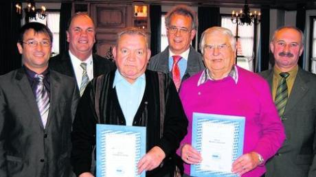 VdK Aislingen ehrt langjährige Mitglieder