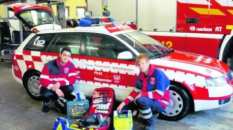 First Responder in Adelzhausen sind startklar
