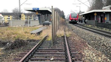 Das dritte Gleis am Bahnhof ist fest eingeplant