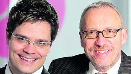 Die beiden proteco-Geschäftsführer Markus Schaumlöffel (links) und Klaus Weinberger. Foto: proteco