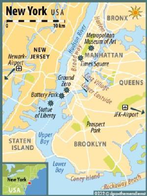 wie hieß new york vor 1664