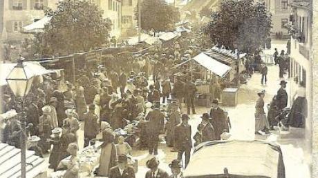 Die Jahrmärkte haben in Pfaffenhausen eine lange Tradition. Der jüngste von ihnen ist der Fastenmarkt, der vor 200 Jahren genehmigt worden ist.