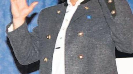 Manfred Guggenmos erläuterte seine Pläne für ein Energieprojekt.
