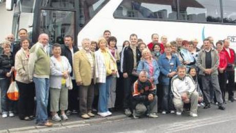 Die ungarischen Gäste aus Görscöny erlebten in Breitenbrunn ein abwechslungsreiches Programm und trafen viele Freunde wieder.