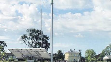 Die vertikalen Windräder von Jürgen Lutz drehen sich fast lautlos.