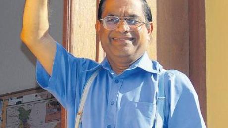 Er war gerne im Unterallgäu und auch gern gesehen. Nach 20 Jahren verlässt Pfarrer George Kakkattil Breitenbrunn und geht zurück in seine indische Heimat.
