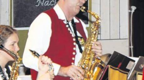 Stefan Strodel begeisterte am Saxofon.