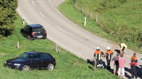 Ein 21-Jähriger ist am Saulengrainer Berg ins Schleudern geraten und schwer verletzt worden.