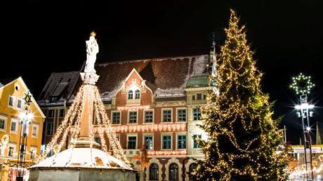 Weihnachten in Mindelheim ist wunderschön. Doch wo kann man schnell an Heiligabend noch etwas einkaufen?