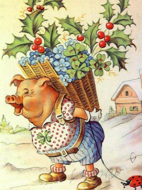 Postkarten: Neujahrswünsche auf Papier trotzen der digitalen ...
