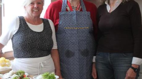 Irmgard Rauch, Anneliese Mayer und Bürgermeisterin Karin Schmalholz (von links) stehen hinter dem Projekt.