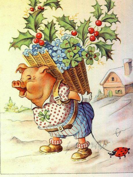 Tradition: Mit Klee und Schwein ins neue Jahr - Nachrichten ...
