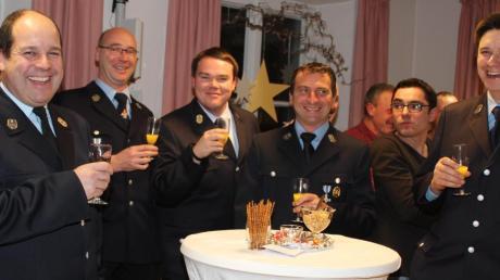 Mit Vertretern der Vereine, Organisationen, Einrichtungen und Verbände feierten Pfarr- und politische Gemeinde das Neujahr in Dirlewang.
