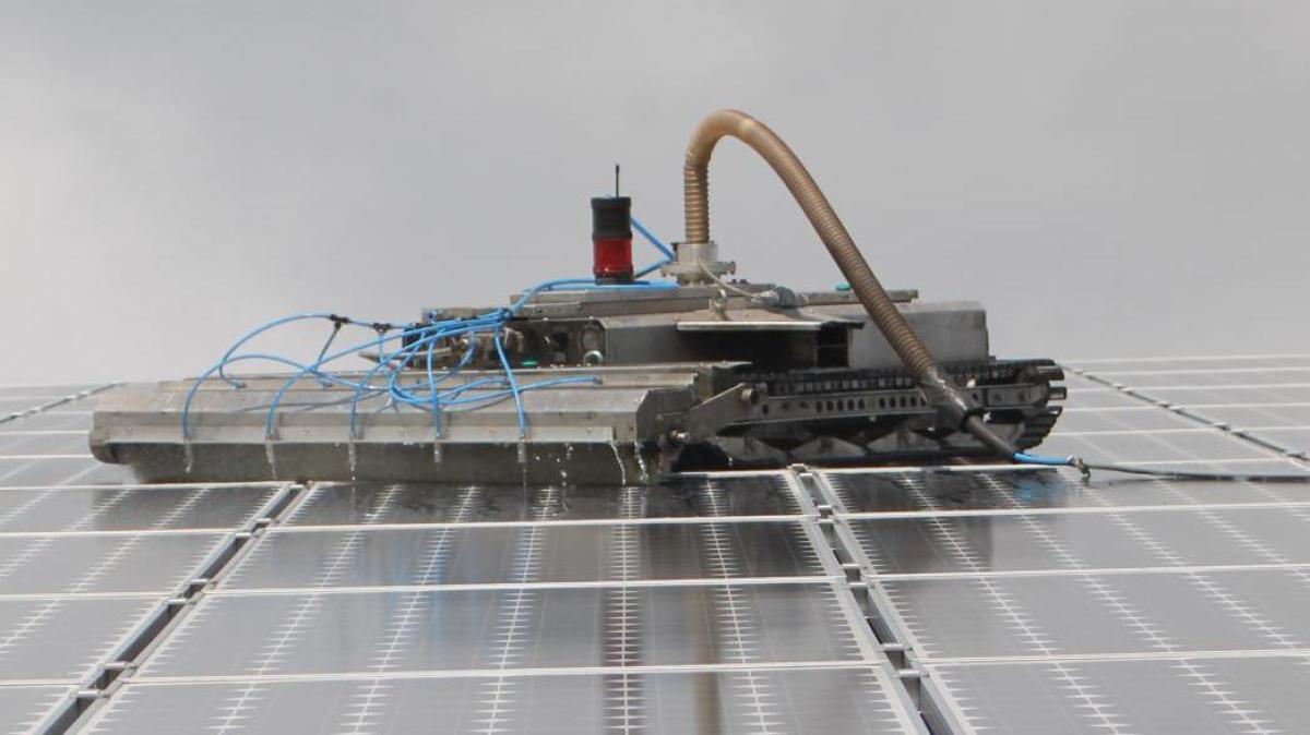 Solarenergie Im Unterallg U So Reinigen Sie Ihre