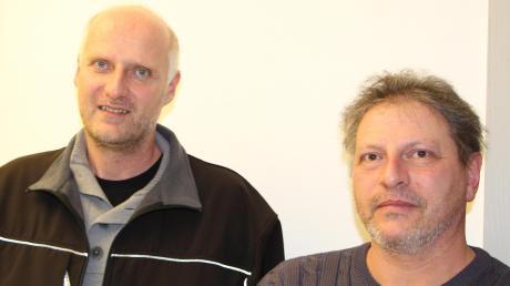 Reinhold Scherle (links) und Stefan Lutzenberger wollen nur, dass das Brummen endlich aufhört.