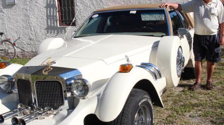 Einene echten Hingucker hat Raimund Goroll mit nach Amberg gebracht. Sein Cadillac gilt völlig zu Recht als Straßenkreuzer, ein echtes Dickschiff mit jeder Menge Chrom.