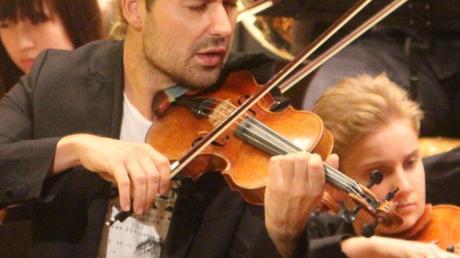 Die Talente des vbw-Festivalorchesters üben mit Weltstar David Garrett.