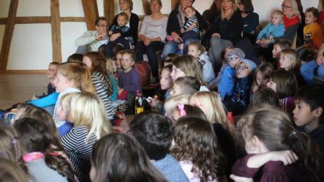 Zum Finale in Ettringen kamen die Kinder auf ihre Kosten. Entsprechend groß war der Andrang.