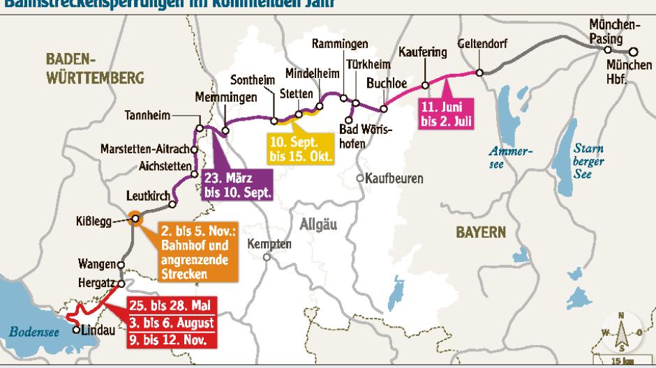 Bahnausbau In Der Region 3200 Bahnfahrer Müssen In Busse