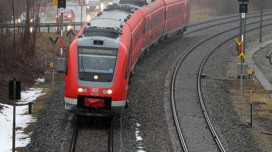 Bahnausbau Im Allgäu Politiker Fordern Mehr Strecken