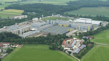 In der Papierfabrik in Ettringen ist es am Montag zu einem Brand gekommen.