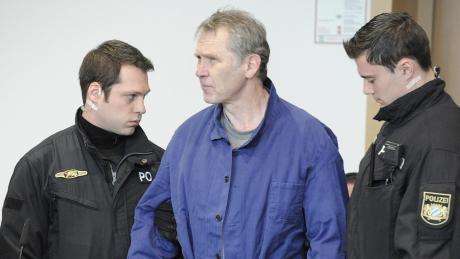 Rudolf Rebarczyk beim Prozessauftakt vor dem Augsburger Landgericht im Jahr 2013.