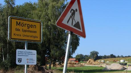 In Mörgen wird gebaut. In ihrem Ortsteil will die Gemeinde Eppishausen einige Bauplätze erschließen.