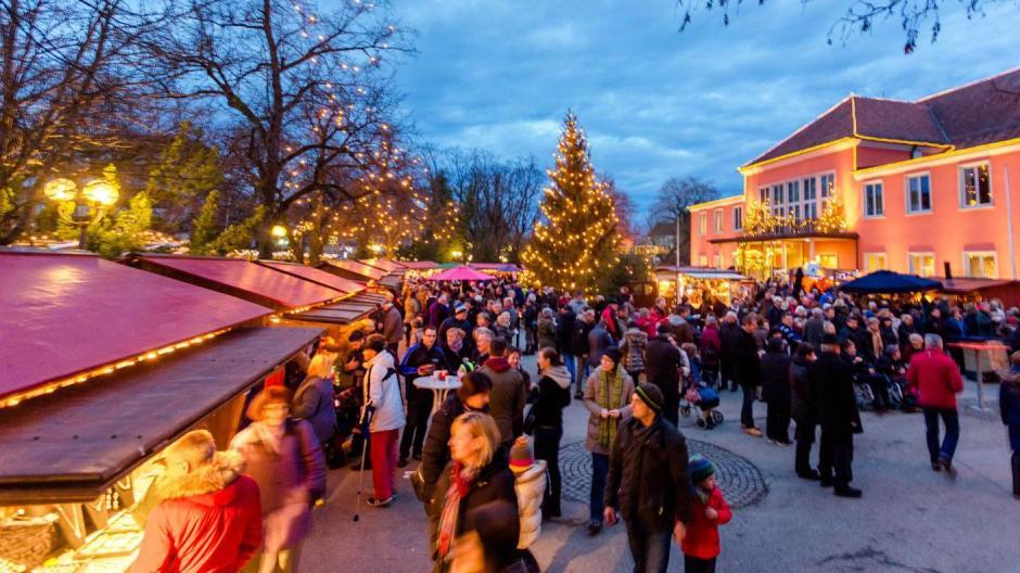 Das Weihnachtsmarkt.Bad Wörishofen Budenzauber Beim Weihnachtsmarkt Das Programm