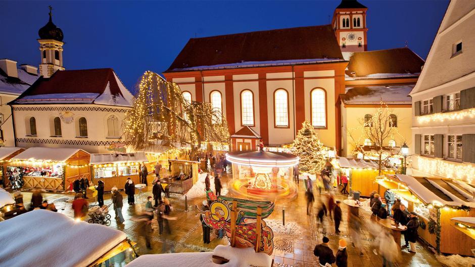 Wo Ist Noch Weihnachtsmarkt.Mindelheim Dieser Weihnachtsmarkt Ist Was Für Gemütliche