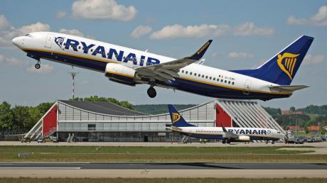 Seit Ende März 2019 sind zwei Ryanair-Maschinen fest auf dem Allgäu Airport stationiert.
