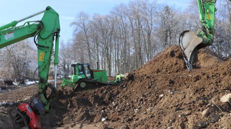 """44 Wohnungen sollen in den """"Eichwaldterrassen"""" entstehen."""