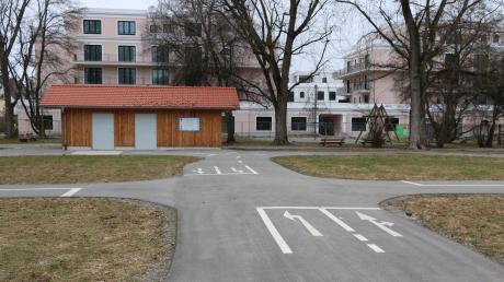Der Verkehrsübungsplatz von Bad Wörishofen war die bislang größte Einzelspende von Hans-Joachim Kania.
