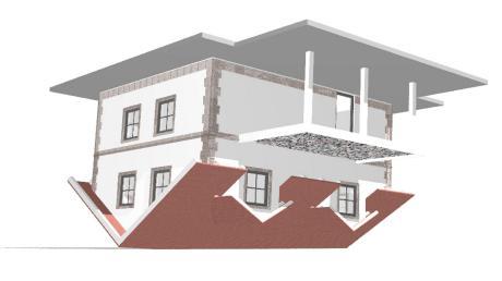 Eigentlich ein ganz normales Haus, könnte man meinen – nur soll es eben auf dem Kopf stehen, wenn es nach den Plänen von Steinmetz Manfred Schlögel geht. Der Pfaffenhauser Marktrat war geteilter Meinung über das Bauobjekt.