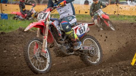 Beim Motocross hat sich in Ettringen ein schwerer Unfall ereignet.Unser Symbolfoto entstand bei einer anderen Veranstaltung.