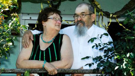 Theresia und Kurt Mendlik aus Markt Wald blicken auf 50 Ehejahre zurück und feierten jetzt ihre Goldene Hochzeit.