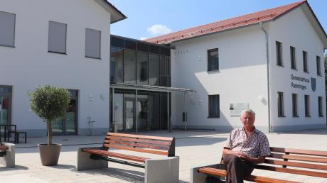 Zeit zum Durchschnaufen für Bürgermeister Schwele vor der Eröffnung am Sonntag. Eine Bildergalerie von der Bauphase finden Sie unter mindelheimer-zeitung.de