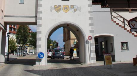 Viel hat sich am oberen Tor nicht verändert seit 1890: der Blick aus der Stadt heraus.