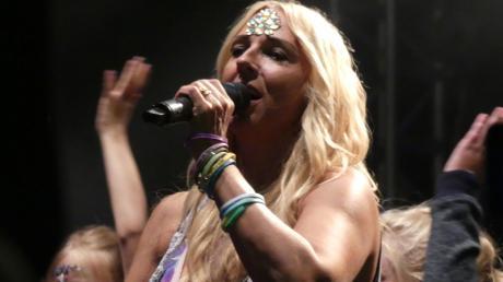 Kampf der Realitystars 2021: Loona im Porträt. Unser Archivbild zeigt die Sängerin im Skyline Park.