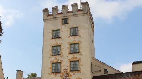 Zutritt und Einfahrt in die Mindelheimer Altstadt sind durch das Einlasstor besonders malerisch.