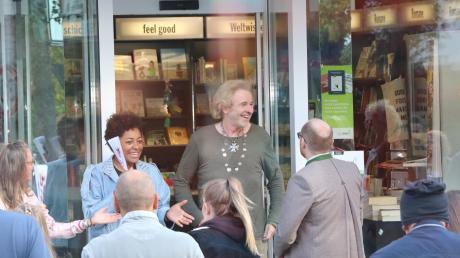 Thomas Gottschalk wurde in Bad Wörishofen von Verstehen Sie Spaß verulkt. Der Dreh fand in einer Buchhandlung statt.