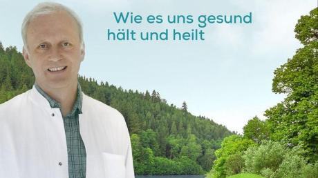 Dr. Thomas Rampp aus Pfaffenhausen, ist als Spezialist zum Thema Wasser auch erfolgreicher Buchautor.